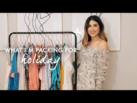 WHAT IM PACKING FOR HOLIDAY | WE ARE TWINSET