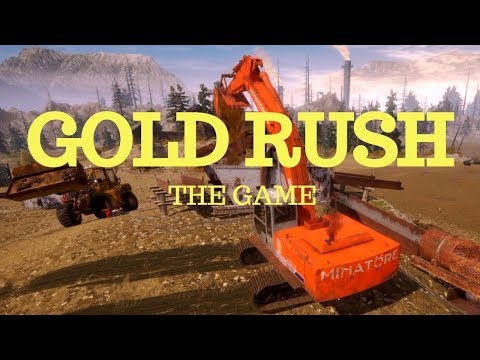 Gold Rush: The Game | Working the Tier 3 wash | Plant clean up and selling gold |