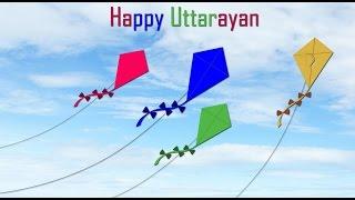 Happy Uttarayan 2016 - Latest  Uttarayan wishes, greetings, Whatsapp Video, E-card