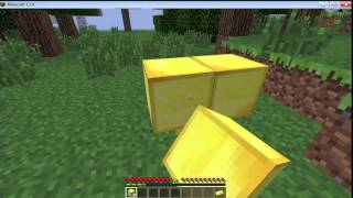 How to make Gold Block in Minecraft