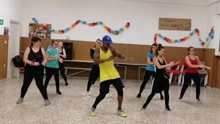 Te Guste - Jennifer Lopez and Bad Bunny Zumba choreography