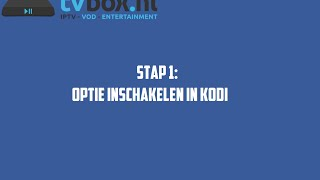 Tutorial | Kodi besturen met je smartphone of tablet (www.tvbox.nl)