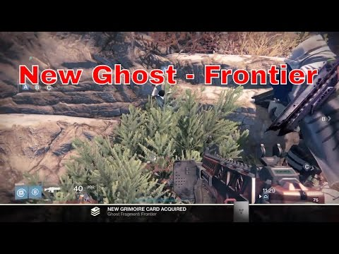 Destiny New Dead Ghost Shell Location Frontier