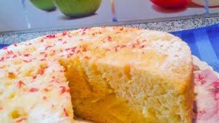 ЯБЛОЧНЫЙ ПИРОГ. Рецепт для мультиварки. Делюсь рецептом вкусного бисквитного пирога !!!