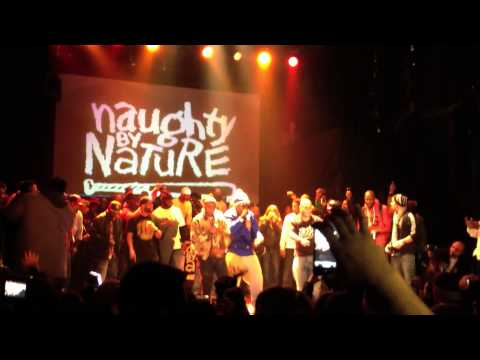 NAUGHTY BY NATURE, MR CHEEKS (Lost Boyz), DO IT ALL  Live @ Gramercy Theatre NYC