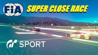 GT Sport Super close Race - FIA Nations Round 3 GR.2 At Fuji