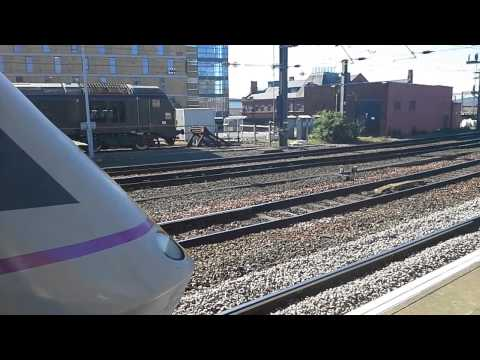 Trains at: Newcastle Central, ECML, 27/04/15