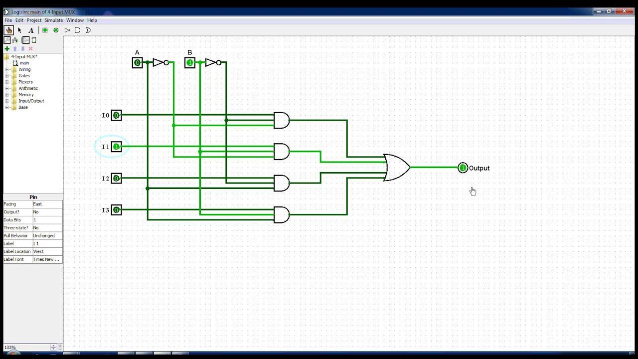 4 input multiplexer [ 1280 x 720 Pixel ]