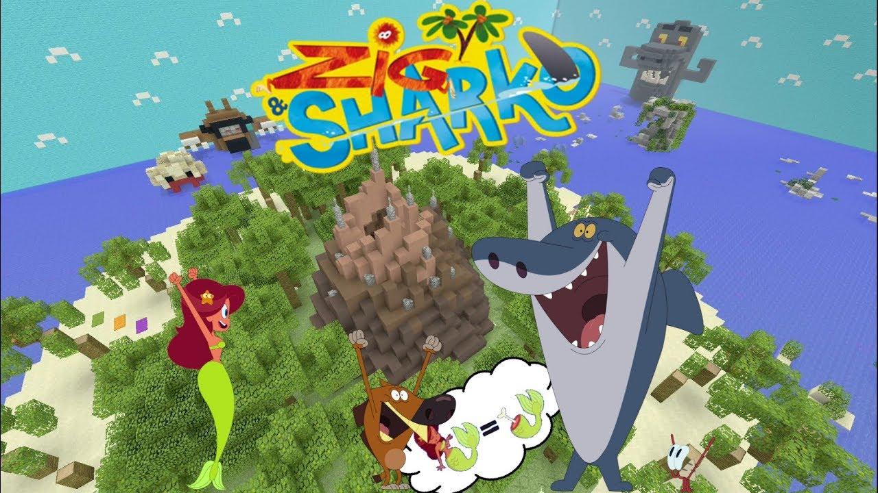 Cache Cache Minecraft Map Zig Et Sharko Episode 9 Ps4 Xboxone