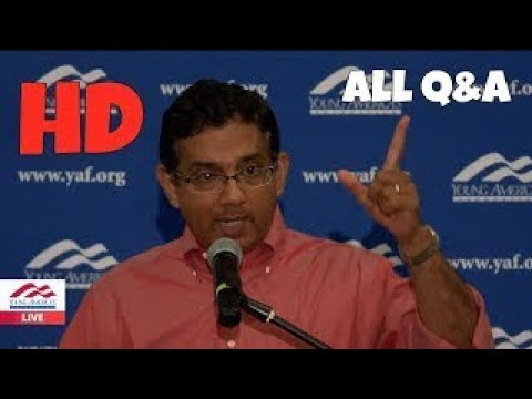 NEW Dinesh D'Souza FIELDS EVERY QUESTION At University Of Memphis ALL Q&A HD 2017