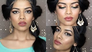 Princess Jasmine Makeup + Hair Tutorial