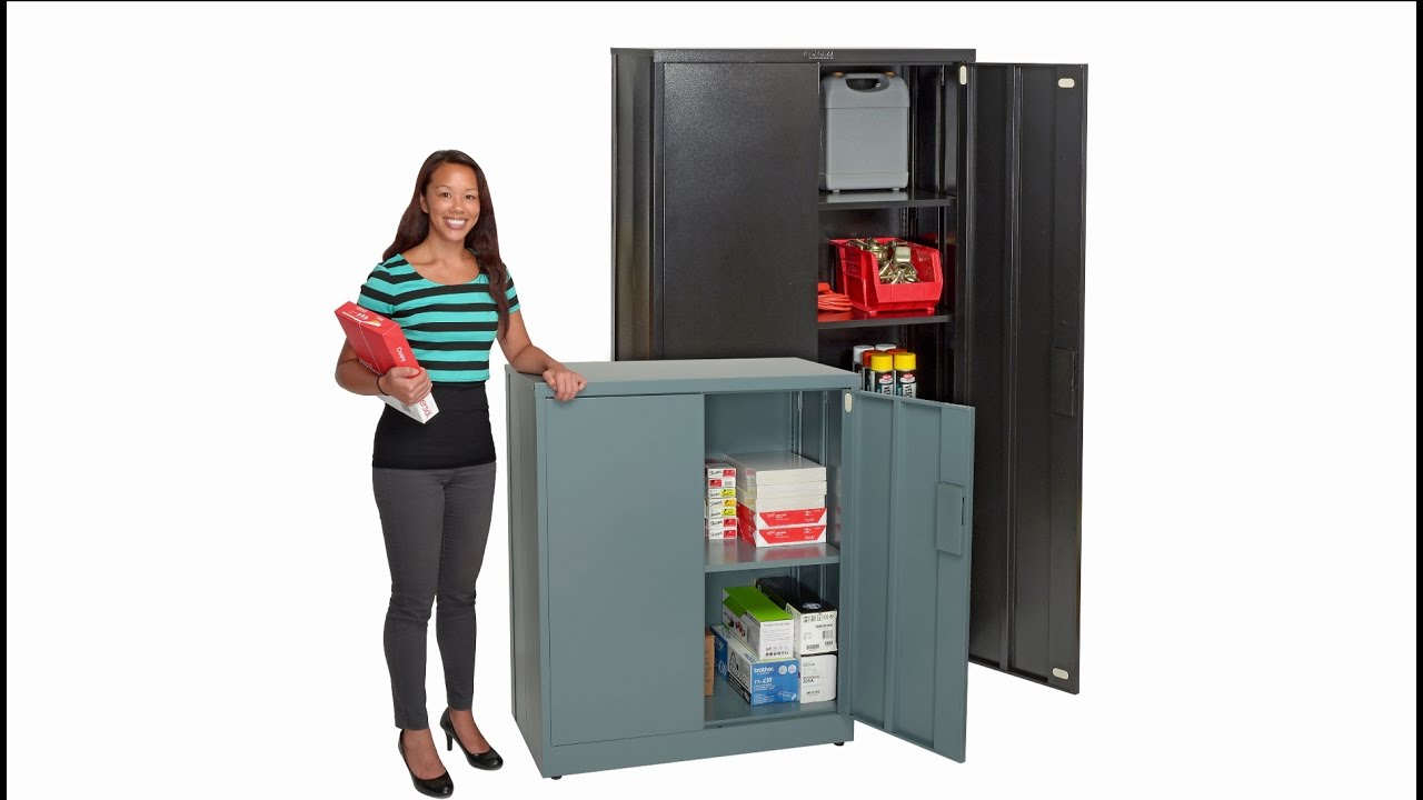 Global Ez Emble Steel Storage Cabinets V2a
