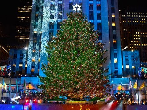 3 facts about the rockefeller center christmas tree youtube for Weihnachtsbaum rockefeller center 2016