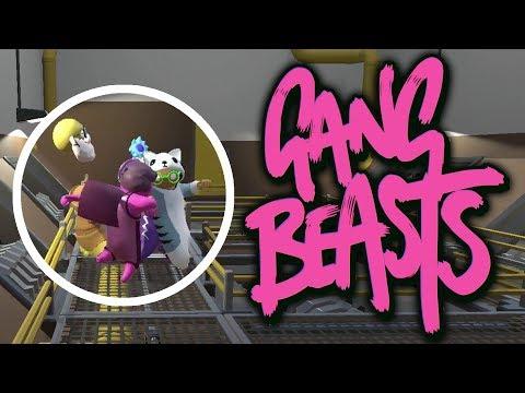 IL PERD LA TÊTE ! | GANG BEASTS MULTI ONLINE COOP