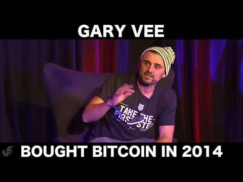 Gary V bought Bitcoin in 2014
