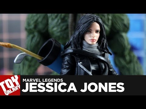 Marvel Legends ManThing Wave Netflix Jessica Jones