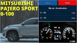 Mitsubishi Pajero Sport -  Acceleration 0-100 km/h (Racelogic)