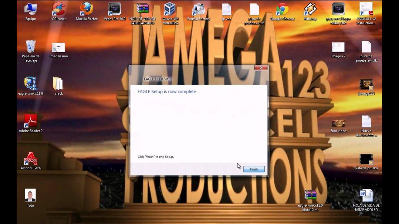 Instalar Eagle 5.11 cra, para fullzone.org, Taringa.net y ...