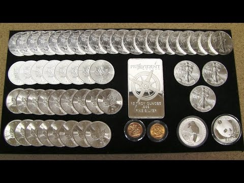 Silver and Gold Stack Update - April 2018