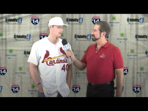 Shelby Miller Interview - 2014 Cardinals Caravan - Rolla, MO