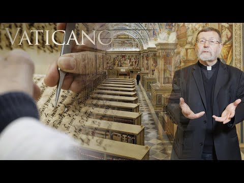 The Library of the Popes - Discover Ancient Sacred Texts preserved in the Vatican | EWTN Vaticano