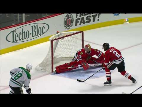 Gotta See It: Darling robs Eaves with the toe of his skate