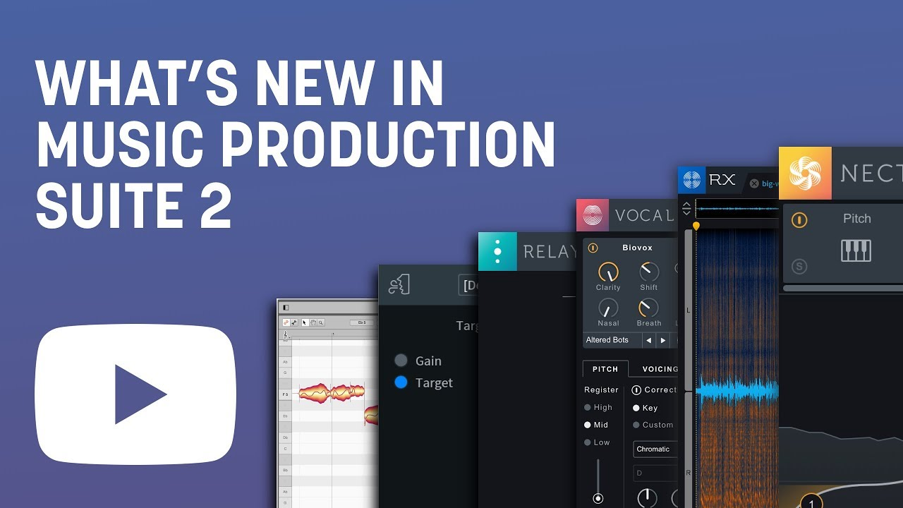 iZotope | Music Production Suite 2 1 | O8N3 Adv, Tonal Balance Ctrl, RX 7  Std, Nectar 3 and more