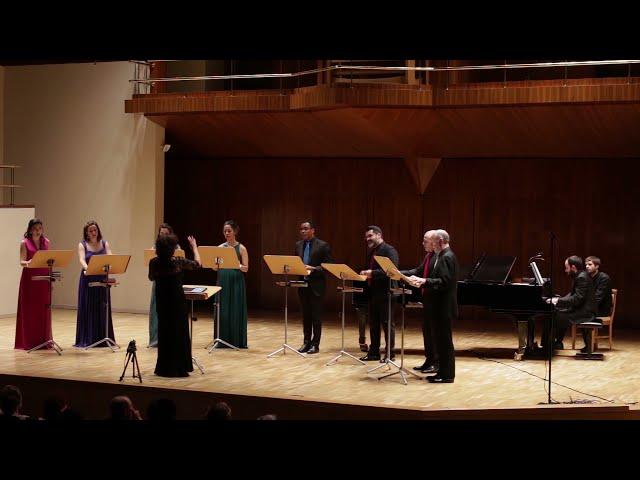 Elegía, E. Halffter (1905 - 1989). Ensemble Vocal Mirtos. Dir. Nuria Fernández Herranz.