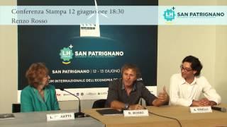 #LHFORUM - Renzo Rosso Conferenza Stampa ore 18 e 30 (IT)