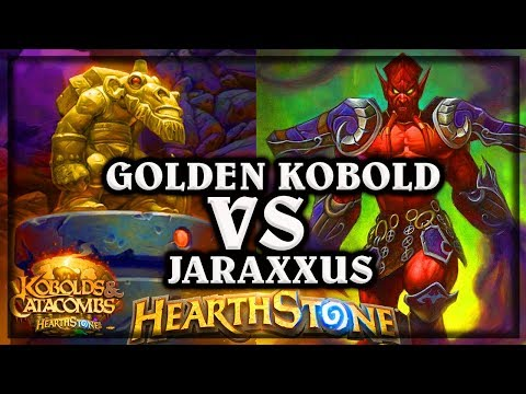 Golden Kobold VS Jaraxxus ?? ~ Kobolds and Catacombs ~ Hearthstone Heroes of Warcraft thumbnail
