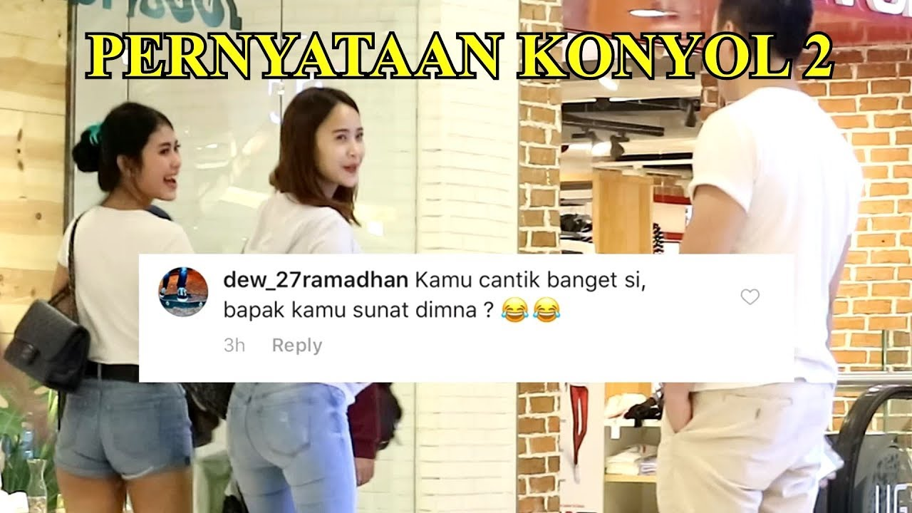 PRANK PERNYATAAN PERTANYAAN KONYOL 2 Prank Indonesia