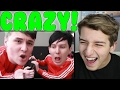 Dan and Phil play THE IMPOSSIBLE QUIZ #6 Reaction | DanAndPhilGAMES