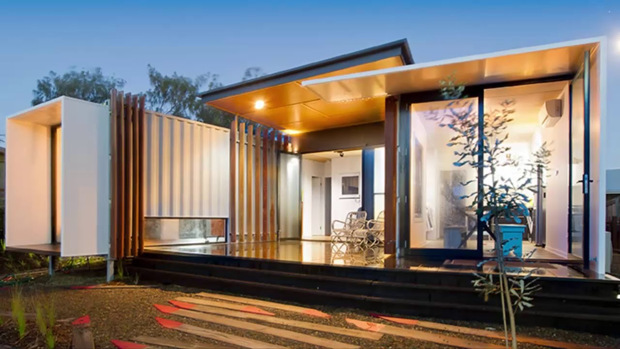 10 Amazing Shipping Containers Homes Design Ideas Youtube