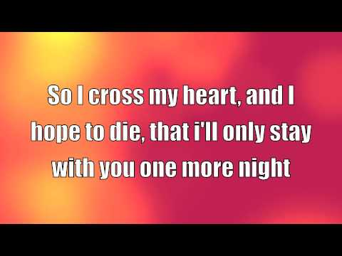 Adam Levine- One More Night (LYRICS)