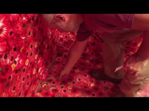 Yayoi Kusama's Flower Obsession- Melbourne Triennial National Gallery Victoria