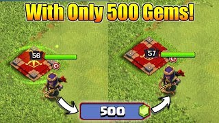 How To Upgrade Your Level 56 Queen To 57 With 500 Gems? | Clash of clans | Road to TH12 Max