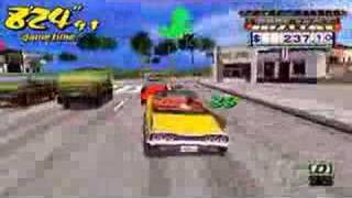 Crazy Taxi Fare Wars (Gameplay) [PSP]