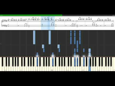 Jay Z - Empire state of mind feat. Alicia Keys [Piano Tutorial] Synthesia