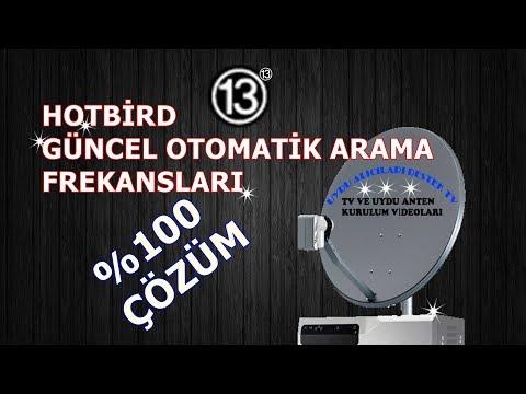 Hotbird otomatik arama frekanları 2017