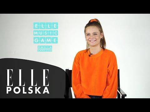 Kasia Sawczuk śpiewa Arianę Grande, Dawida Podsiadłę i swój debiutancki singiel [ELLE Music Game]