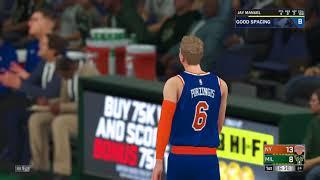 NBA 2K18 Knicks v Bucks #1