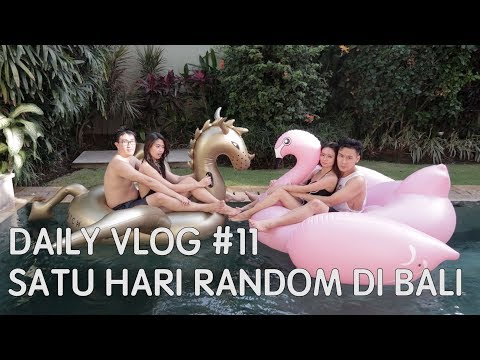 Daily Vlog #11 - Another Bali Trip + mainan floaties