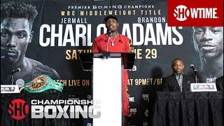 Charlo vs. Adams: Post-Fight Press Conference | SHOWTIME CHAMPIONSHIP BOXING