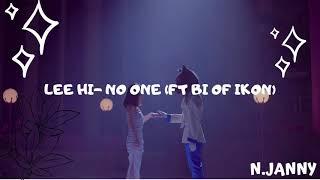 LEE HI - NO ONE (ft. B.I OF IKON) (1 HOUR LOOP)