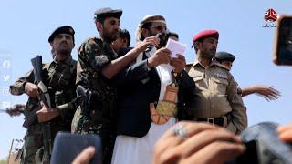 كلمة محافظ مأرب اللواء سلطان العرادة خلال استقباله المختطفين المفرج عنهم