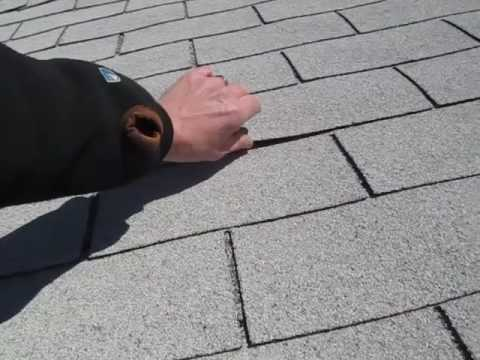 Lifted Roof Shingles YouTube – Shingles Lifting On Roof
