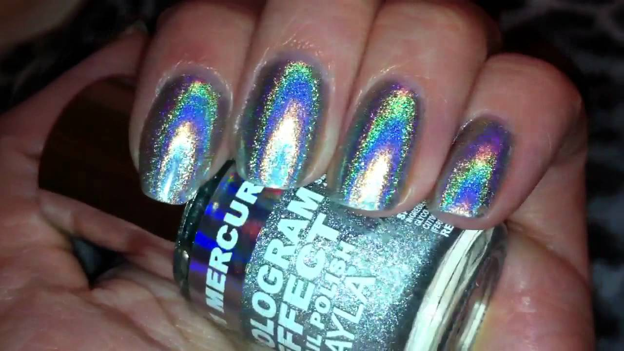 Layla Hologram Effect Mercury Twilight