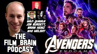 """Film Brain Podcast (w/Jon Burdett, Brian Heinz, Welshy): """"Avengers - Endgame"""": End of the Beginning?"""