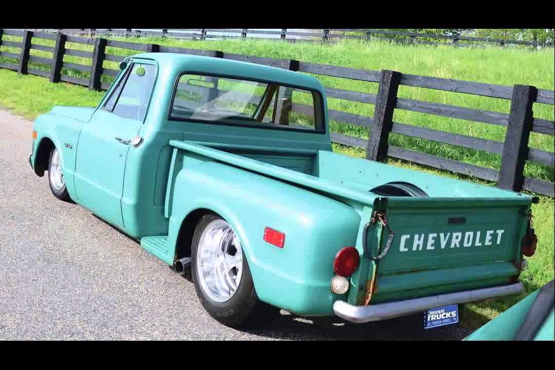 Chevy C10 Pickup For Sale 1970 chevy c10 stepside - YouTube