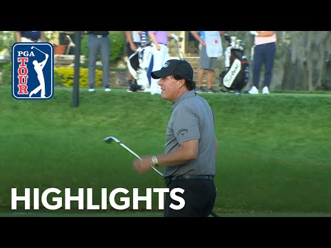Phil Mickelson Highlights   Round 1   Arnold Palmer 2019